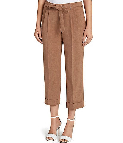 Tahari ASL Pleat Front Trouser Pants