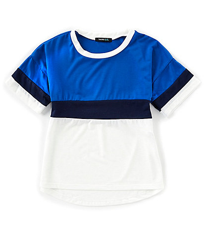 Takara Big Girls 7-16 Short-Sleeve Colorblock Tee