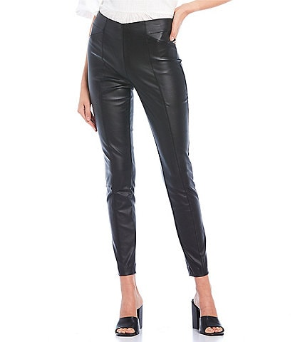 Takara High Waist Coated Millennium Pants