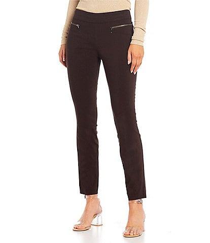 Takara Pull On Millennium Coordinating Zipper Dress Pants