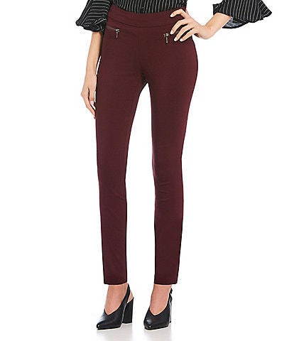 Takara Pull On Millennium Coordinating Zipper Dress Pants