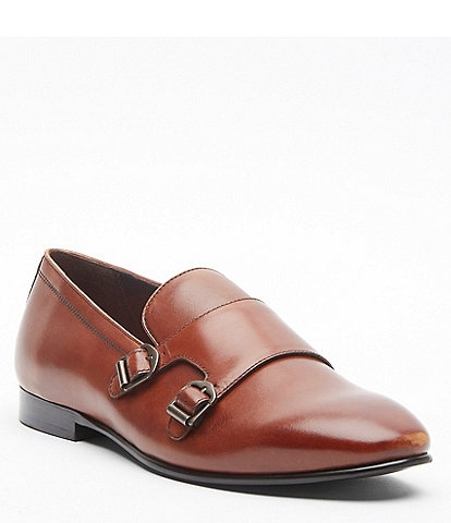 Tallia Men's Emmanuele Leather Monk Strap