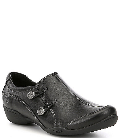 Taos Footwear Encore Leather Slip-Ons