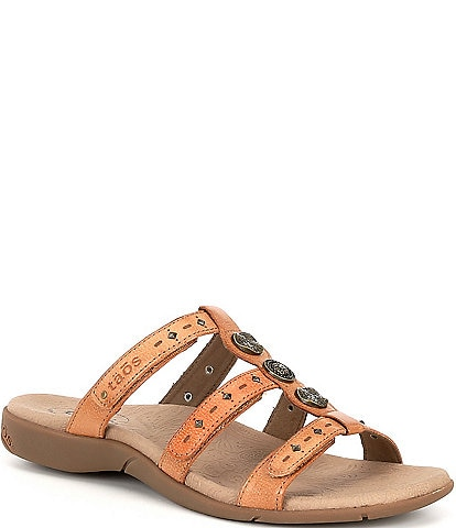 Taos Footwear Festive 3 Leather Sandals