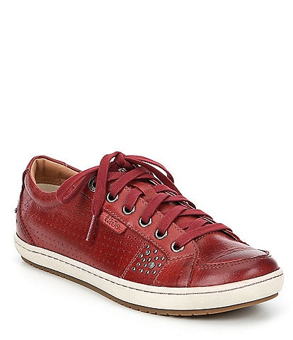 Taos Footwear Freedom Leather Studded Sneakers