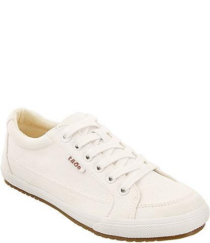 Taos Footwear White Women's Wide Width