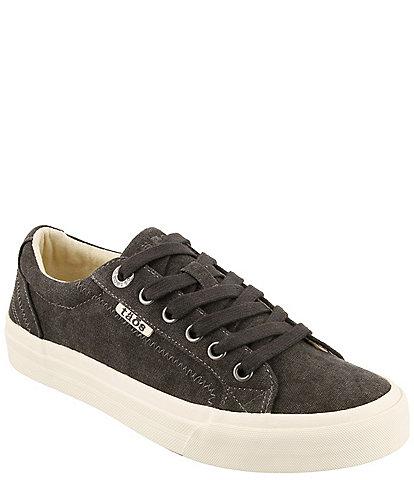 Taos Footwear Plim Soul Canvas Platform Sneakers