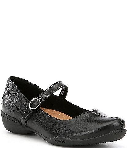 Taos Footwear Ta Dah Leather Mary Janes