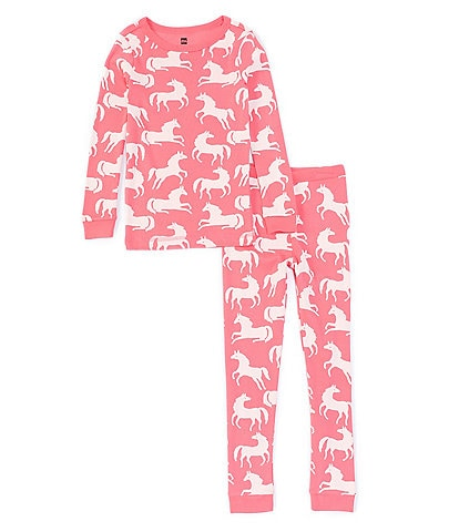 Tea Collection Little Girls 2-6 Long Sleeve Pajama Set