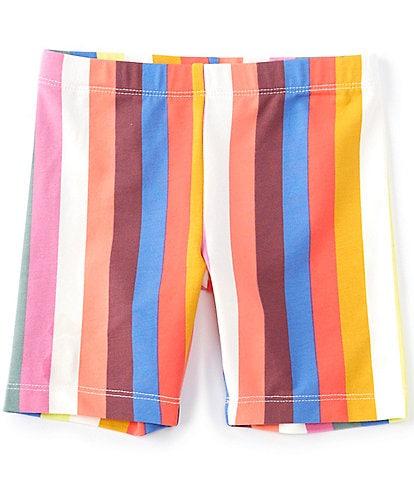 Tea Collection Little Girls 2-6 Stripe Bike Shorts