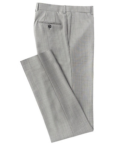 Ted Baker Flat Front Jefferson Straight Fit Dress Pants