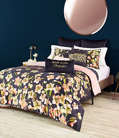 Ted Baker London Arboretum Floral Sateen Comforter Mini Set