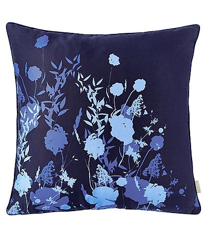 Ted Baker London Bluebell Floral Square Pillow