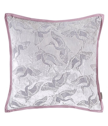 Ted Baker London Crane Collection Burnout Square Pillow