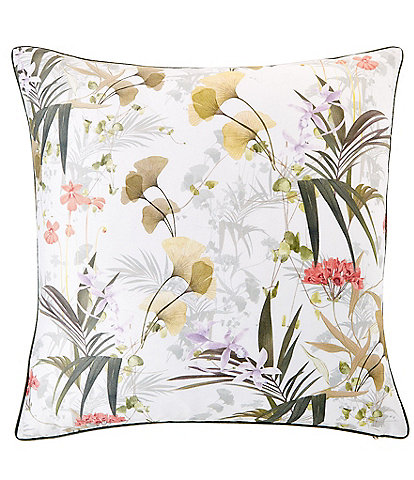 Ted Baker London Highland Floral Square Pillow