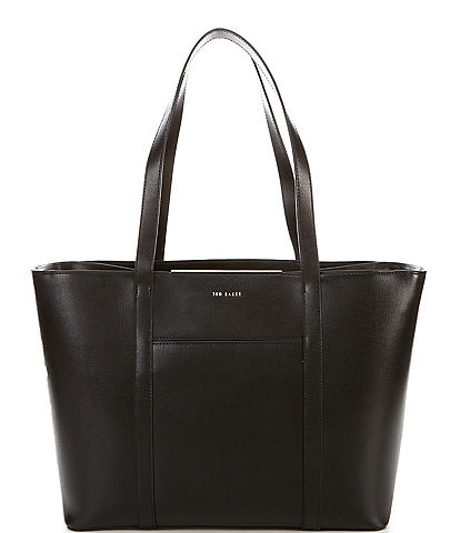 Ted Baker London Kimiaa East West Leather Top Zip Tote Bag