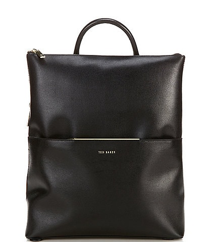 Ted Baker London Kryshia Leather Bar Detail Backpack