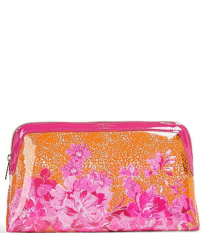 Ted Baker London Large Zip Around Cosmetic Bag