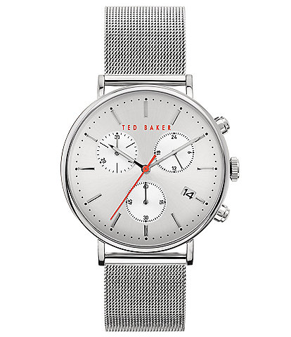Ted Baker London Mimosaa Silver Chronograph Watch