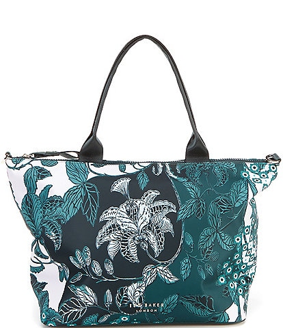Ted Baker London Rococo Turquoise Small Nylon Tote Bag