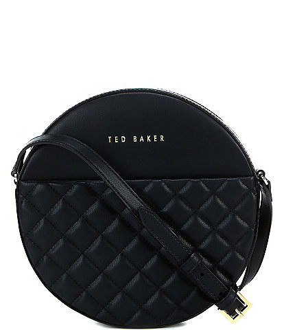 Ted Baker London Small Quilted Circle Crossbody Bag