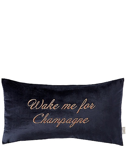 Ted Baker London Wake Me for Champagne Breakfast Pillow
