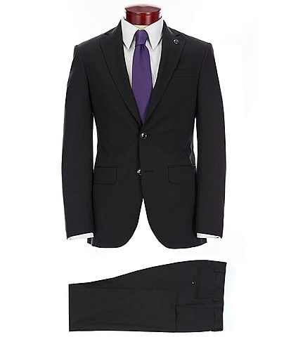 Ted Baker Modern Fit Solid Wool Suit