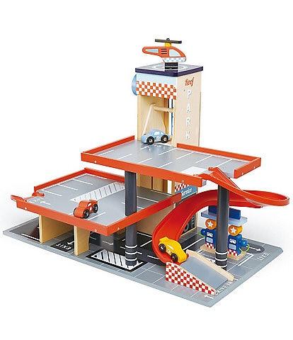Tender Leaf Toys Blue Bird Service Station