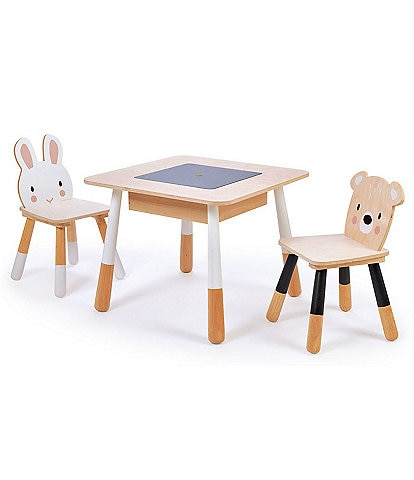 Tender Leaf Toys Forest Table And Chairs Set