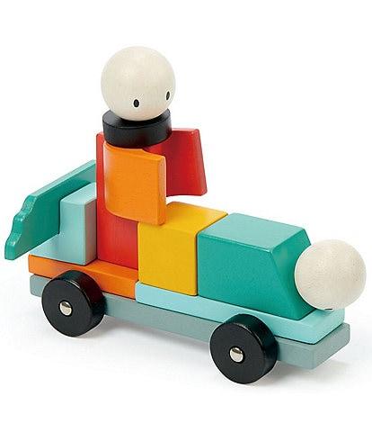 Tender Leaf Toys Racing Magblocs Set