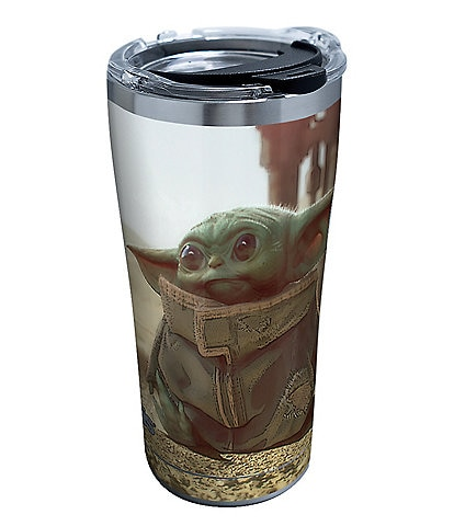 Tervis Tumblers Star Wars Mandalorian- The Child Stainless Steel Insulated Tumbler with Hammer Lid, 20 oz.