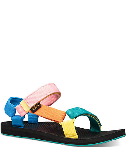 Teva Women's Original Universal Rainbow Colorblock Sandals