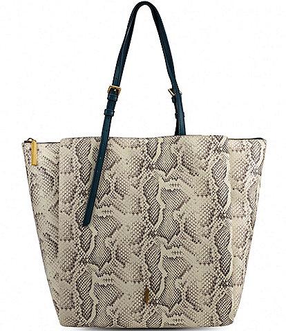 Thacker Anya Snake Large Tote Bag