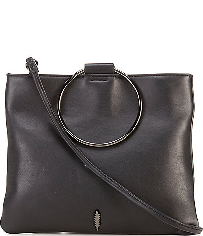 Thacker Le Pouch Ring Handle Crossbody Bag