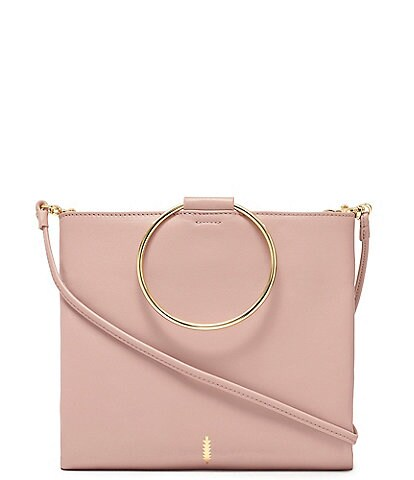 Thacker Le Pouch Ring Handle Cross-Body Bag