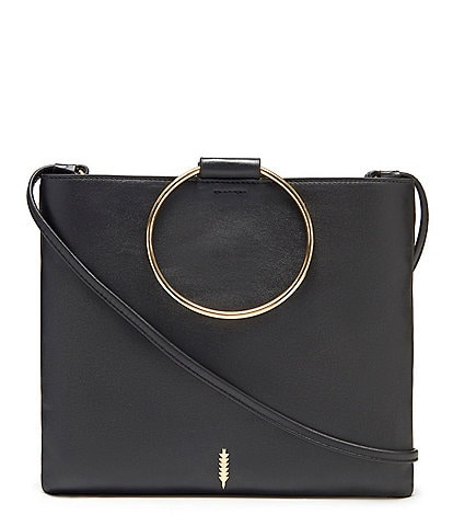 Thacker Le Pouch Slim Ring Handle Crossbody Bag