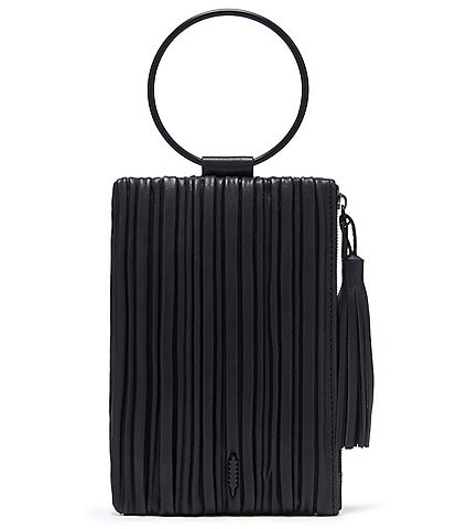 Thacker Nolita Small Pleated Leather Wristlet Clutch