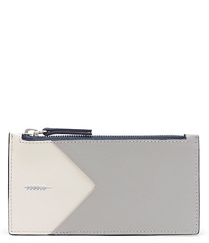 Thacker Sofia Large Colorblock Credit Card Wallet
