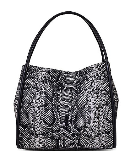 Thacker Terry Snake Print Tote Bag