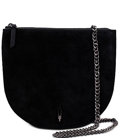 Thacker Vivi Leather Chain Strap Crossbody Bag