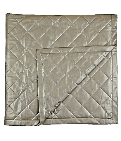 The Art of Home from Ann Gish Faux Leather Throw