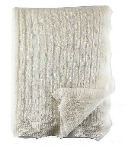 The Art of Home from Ann Gish Mohair Throw