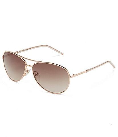 The Marc Jacobs Small Metal Aviator Sunglasses