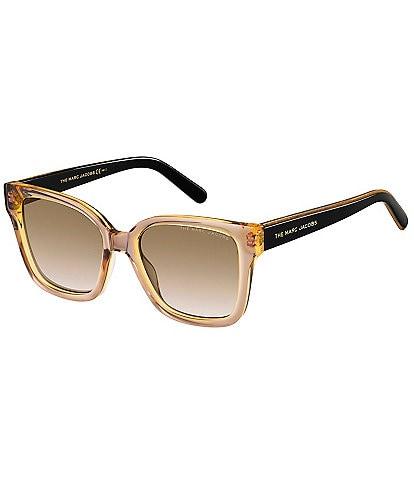 The Marc Jacobs Square Gradient Sunglasses