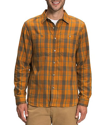 The North Face Arroyo Long-Sleeve Plaid Lightweight Flannel Shirt