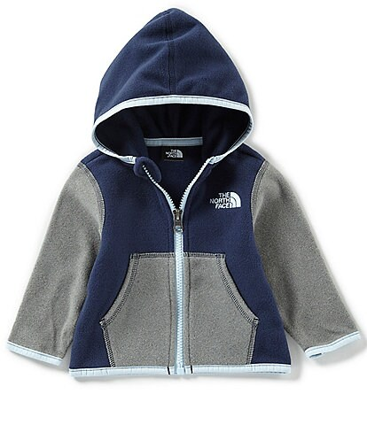 The North Face Baby Boys 3-24 Months Color-Blocked Glacier Full-Zip Hoodie Jacket