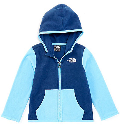 The North Face Baby Boys Newborn-24 Months Colorblock Glacier Fleece Hoodie