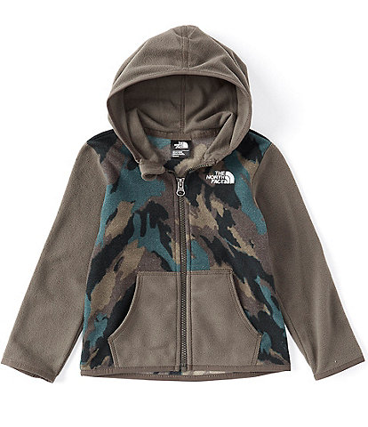 The North Face Baby Boys Newborn-24 Months Colorblock/Camo Glacier Fleece Hoodie