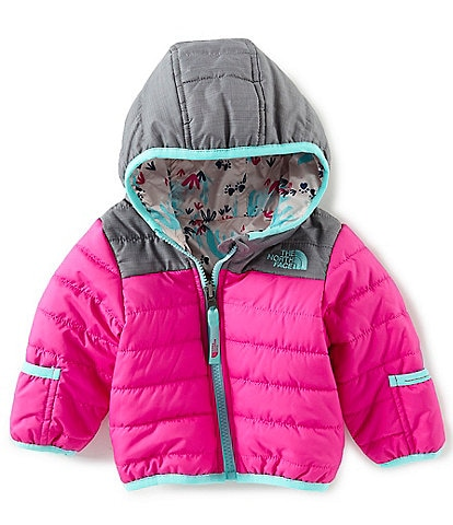 The North Face Baby Girls 3-24 Months Long-Sleeve Color-Blocked Reversible Perrito Jacket