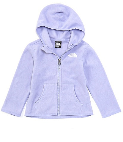 The North Face Baby Girls Newborn-24 Months Glacier Fleece Hoodie